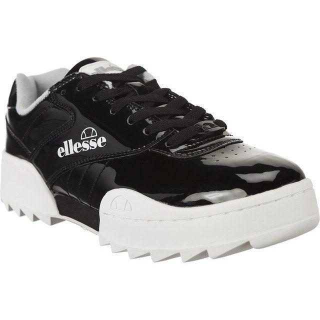 Sportowe Damskie Ellesse Czarne Ellesse Plativo Sgfu0309 Black Ellesse Sketchers Sneakers Shoes
