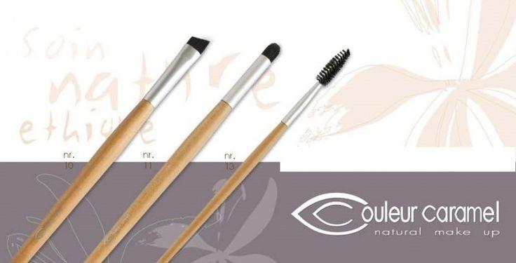 Bio make-up schuin oogschaduw penseel nr.10