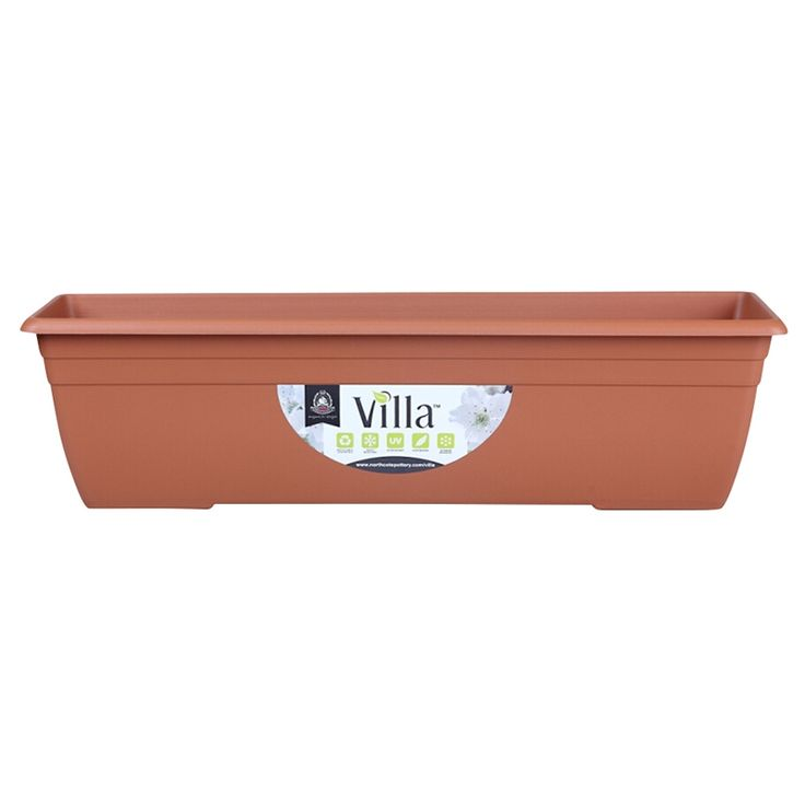 Northcote Pottery 600mm Terracotta Villa Plastic Window Box