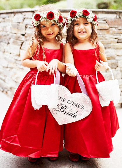 1000  ideas about Red Flower Girl Dresses on Pinterest - Girls ...