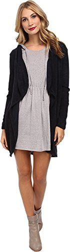 Gabriella Rocha Womens Esme Long Sleeve Cardigan Navy Sweater SM -- Click image for more details.