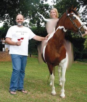 Nuda su cavallo per un pastore della Chiesa Riformata