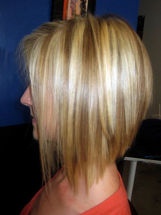 Lowlights Blonde Hair Short Haircut Katrinareppert Com