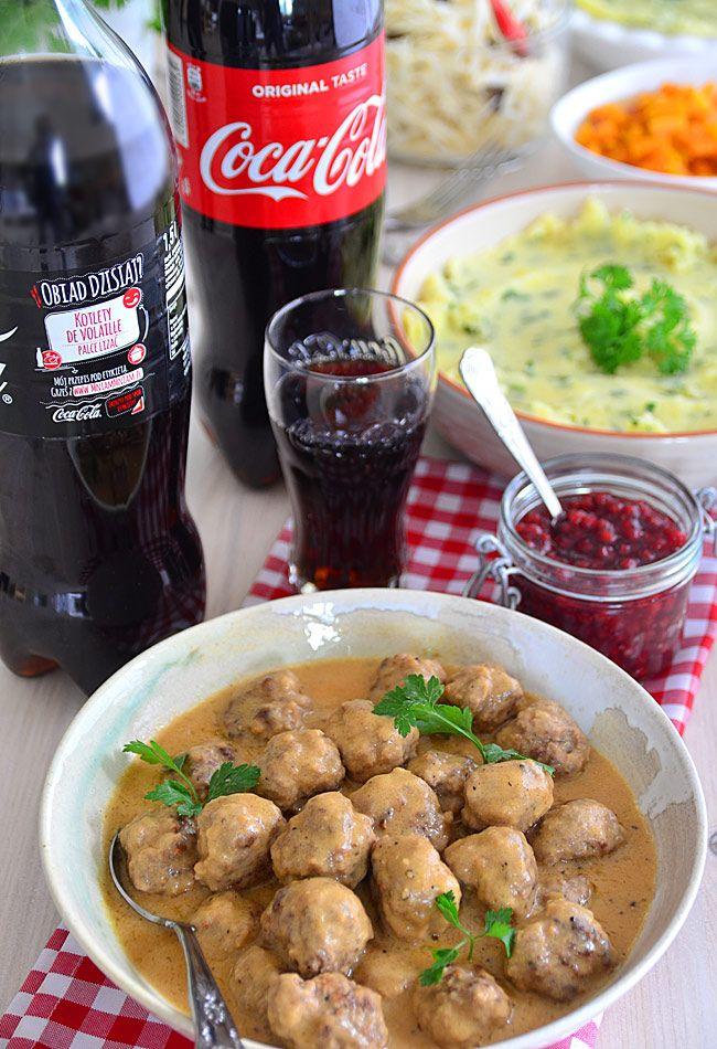 Szwedzkie klopsiki (Kottbullar) z pysznym sosem