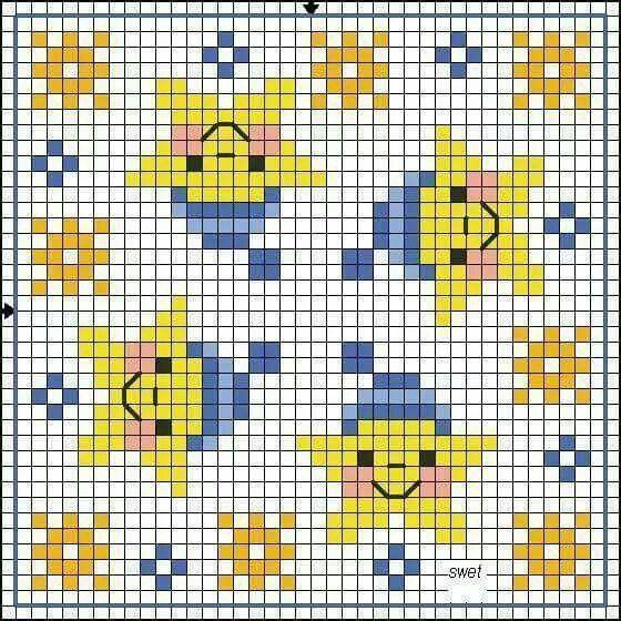 Baby cross stitch.