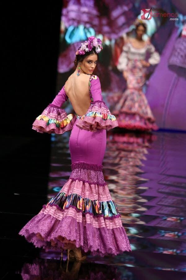 Mejores 1473 imágenes de Moda Flamenca en Pinterest | Trajes de ...