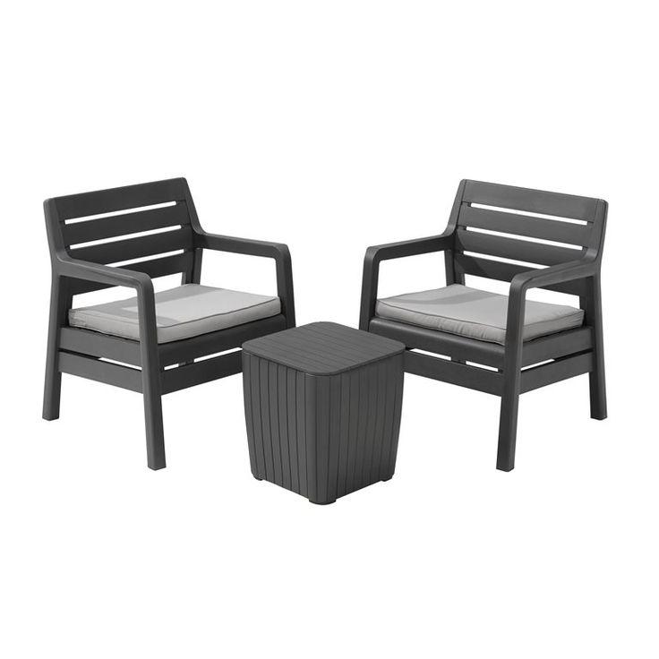 25 best ideas about loungeset balkon on pinterest. Black Bedroom Furniture Sets. Home Design Ideas