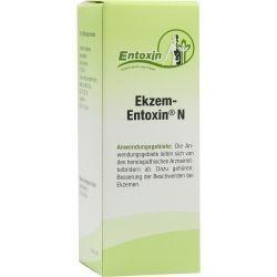 Ekzem Entoxin N Tropfen homöopathisch bei Psoriasis und Dyshidrosis. Wird auch in Verbindung mit Urea Creme genutzt.