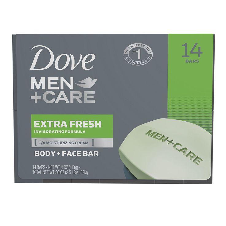 Dove Men+Care Soap Bars, Extra Fresh (4 oz., 14 ct.) - Sam's Club
