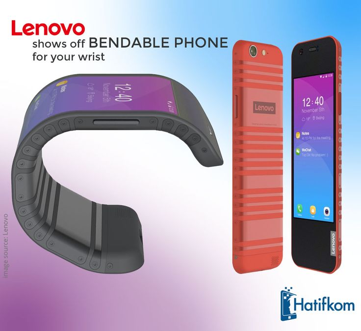 Lenovo CPlus, is a conceptual smartphone with a totally flexible display, that can also be worn as a band on a user's wrist.  #Lenovo #TechNews #MobileNews