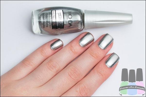 Loucas Por Esmalte » Prata Chrome – Mohda