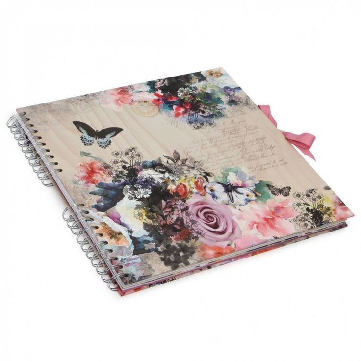 Butterflies - Extra large scrapbooks at Paperchase