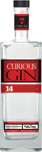 New York, Curious Gin | Artisan spirit distilled by Catskill Distilling Company, Bethel, NY