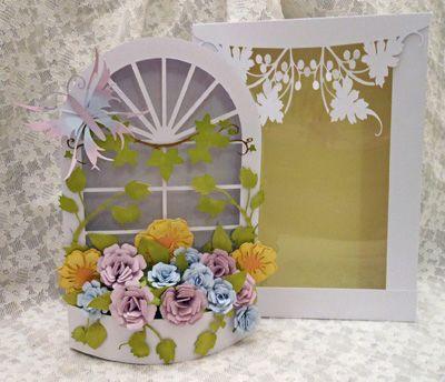 Silhouette Cameo Occasion : svg file template 3d mum 39 s window box cards tags idea pinterest ~ Melissatoandfro.com Idées de Décoration