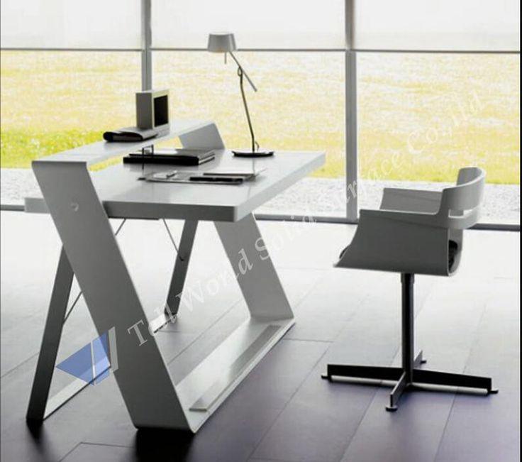 17 mejores ideas sobre escritorio blanco de oficina en - Escritorio de trabajo ...
