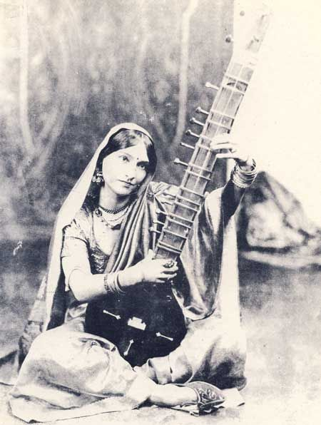 Dancer with Sitar