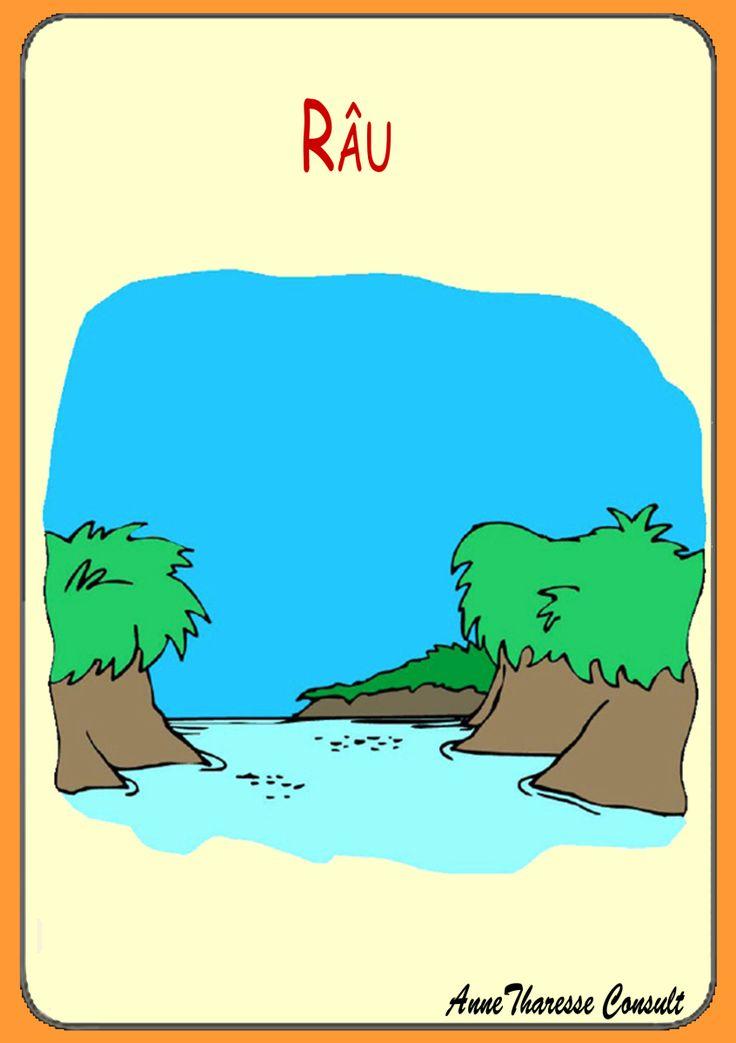 Cartonaşe ilustrate – Geografie