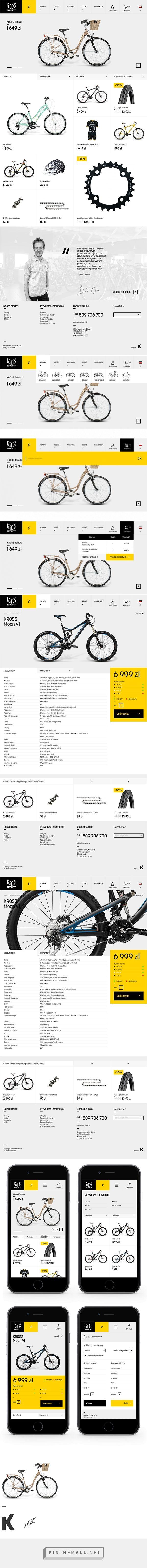 MC Sport Website on Behance - created via https://pinthemall.net
