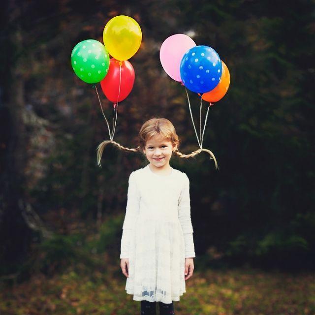 halloween frisur kind zwei zöpfe balloons #Frisuren #Lange #Rundes #Gesicht #Dutt