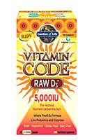 Garden of Life Vitamin Code® RAW D3