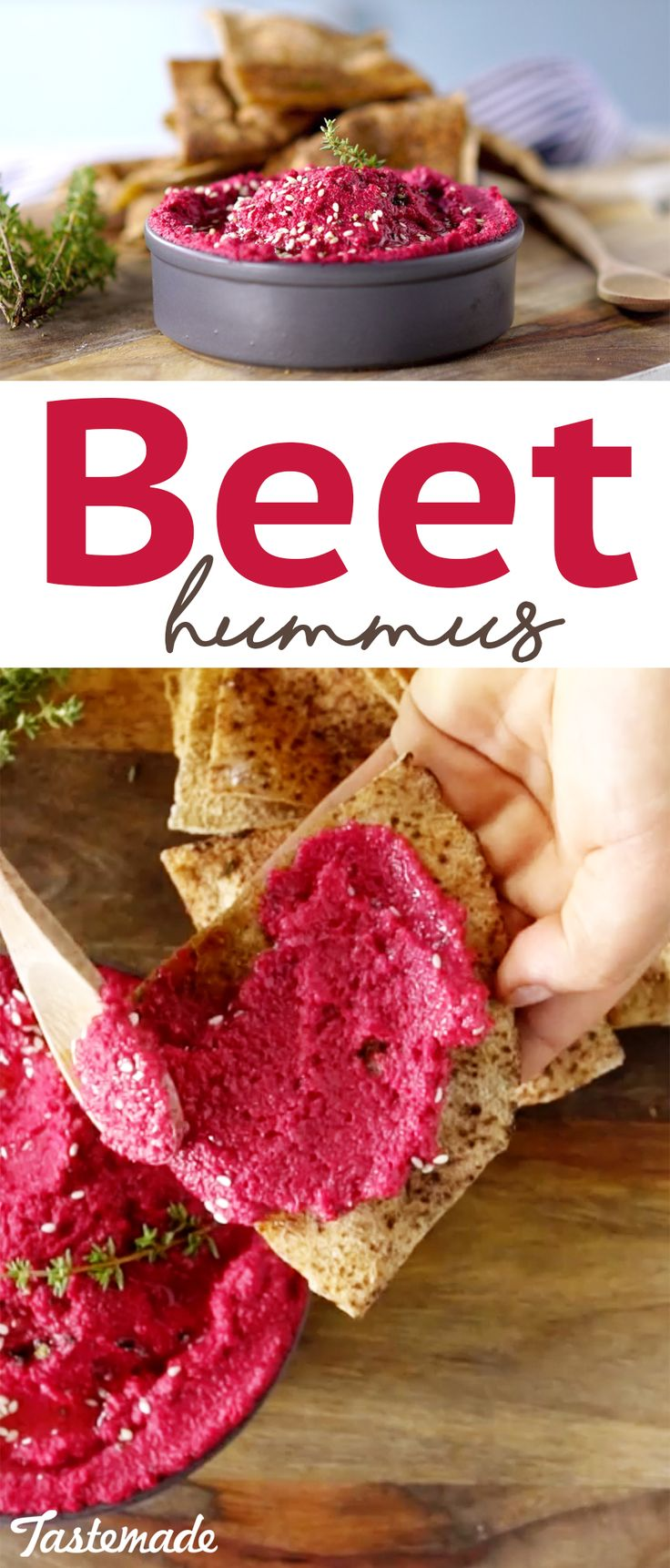 Nothing beats a beautiful, yummy dip made with sweet beets.