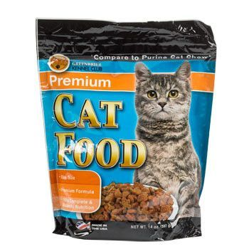 dry cat food comparison chart
