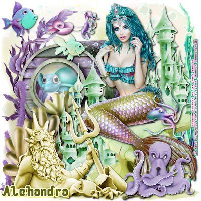 "MI RINCÓN GÓTICO: AD CT TEAM, ""Magic Mermaid"""