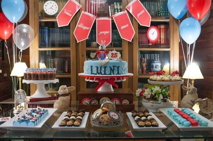 Festa de aniversário: Lulú, o coelho e o tempo!