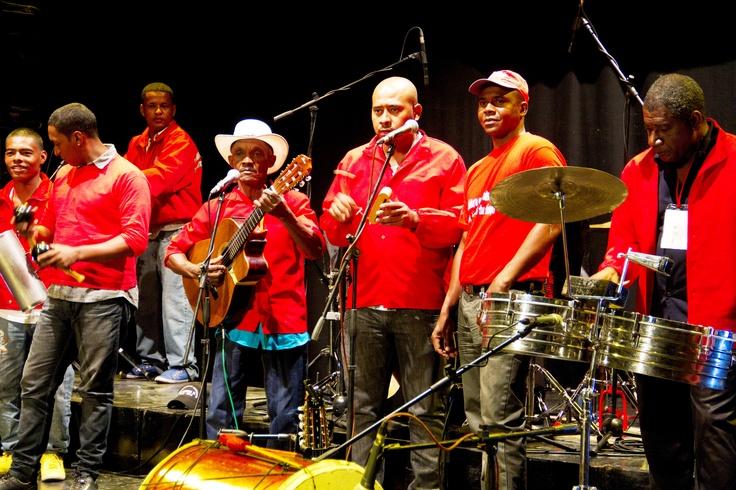 Los músicos voluntarios