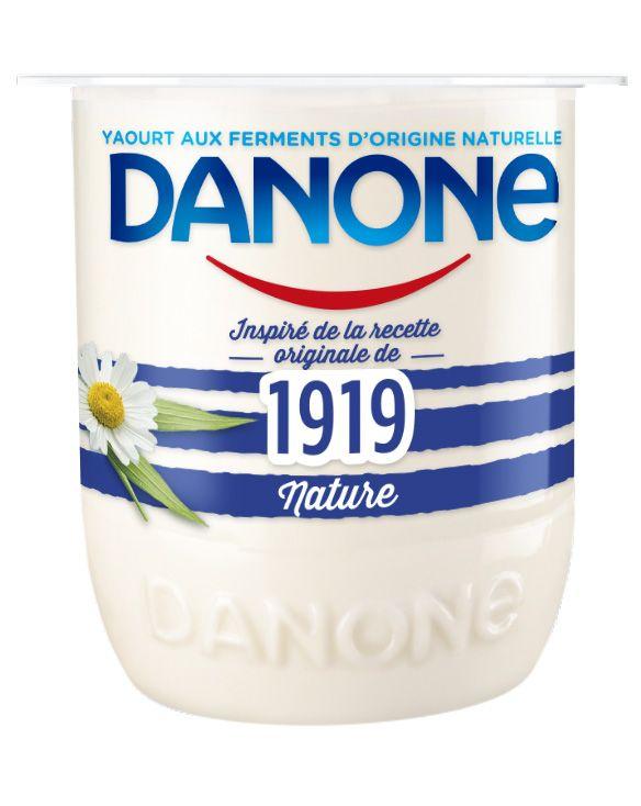 Danone Danone 1919 Nature au lait entier, testé avec le Club des Expertes