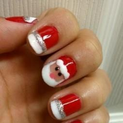 UNHAS DECORADAS DE PAPAI NOEL - Unhas Decoradas