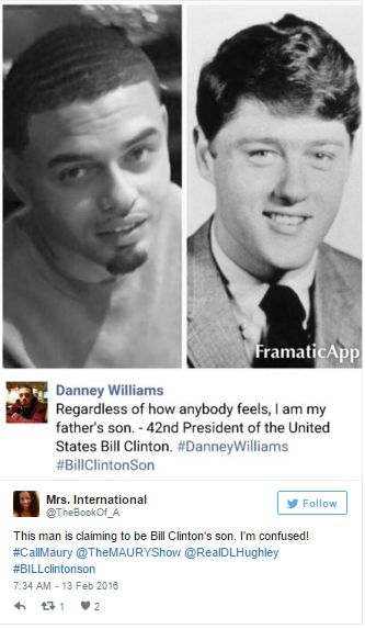Man Claiming To Be Bill Clinton's Illegitimate Son Could Mean Big Trouble For Hillary Clinton's Campaign - Endtimes News Bill Clinton Got An Black Arkansas Former Postitute Named Bobby Ann Williams Pregnant While Having An Affair