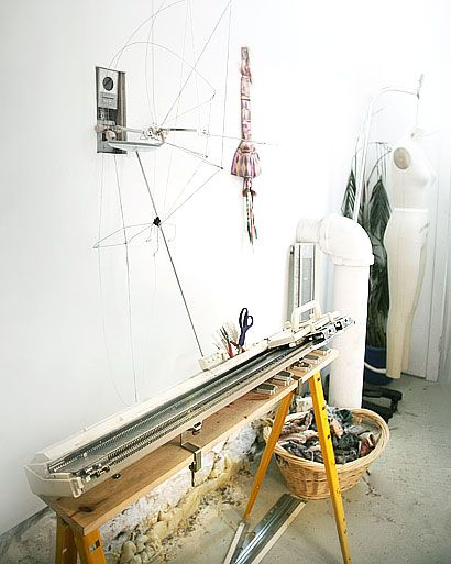 knitting machine! My Mother made some really great things with her machine for our big family