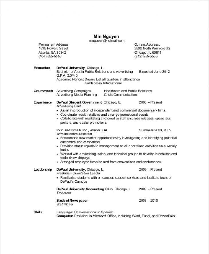 Resume Templates Computer Science Wwwsfeditorwatch