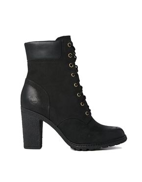 "Enlarge Timberland Glancy 6"" Black Heeled Ankle Boots"