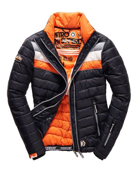 Fuji Snow Jacket (Black Run / Jaffa)
