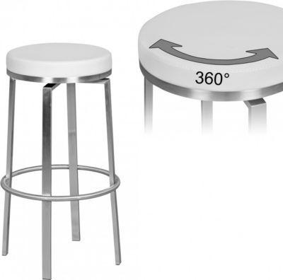 Wohnling WOHNLING Durable M8 | Barhocker Edelstahl weiß | Barstuhl modern | Tresenhocker mit Beinen | Design Hocker drehbar Jetzt bestellen unter: https://moebel.ladendirekt.de/kueche-und-esszimmer/bar-moebel/barhocker/?uid=65710829-ab97-5141-b0ef-34f784ab39ff&utm_source=pinterest&utm_medium=pin&utm_campaign=boards #barhocker #kueche #stehtische #esszimmer #barmoebel