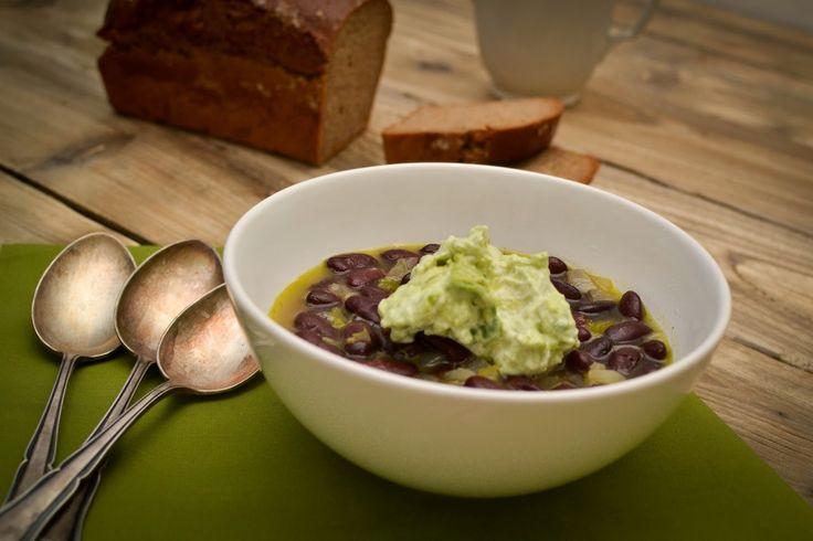 Cook with love: Fazolová polévka s avokádem