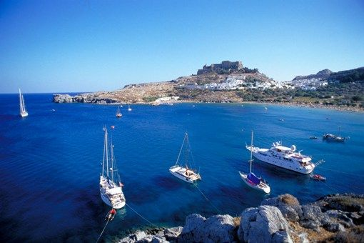VISIT GREECE| Rhodes #island #summer #destination #summer #Lindos #castle  #DreamYourGreece