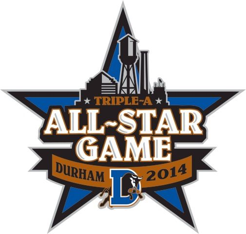 MLB All-Star Game Logo | Durham to Host 2014 Triple-A All-Star Game | Beach Carolina Magazine