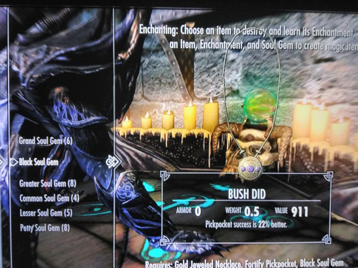 Working on my enchanting. #games #Skyrim #elderscrolls #BE3 #gaming #videogames #Concours #NGC