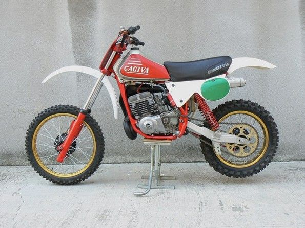 MSOLIS VINTAGE MOTORCYCLE - CAGIVA