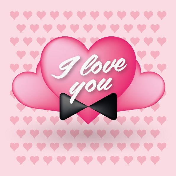 Valentines Heart Love You – Free graphic resources, vectors, mockups, logos and more!