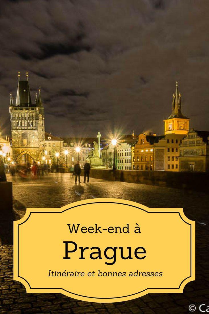 Week-end à Prague - Itinéraire, idées de visites et bonnes adresses de cafés et restaurants dans la capitale de la République tchèque!