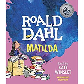 "Another must-listen from my #AudibleApp: ""Matilda"" by Roald Dahl, narrated by Kate Winslet."