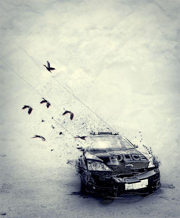 authority blowing away - Félix Ajenjo