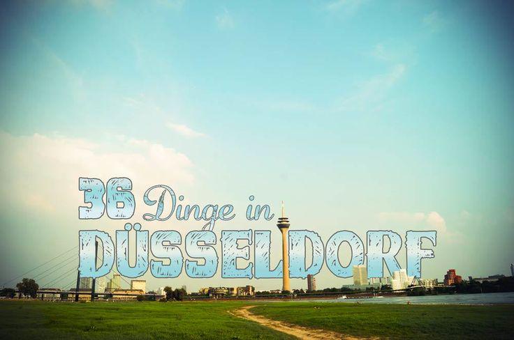 Was tun in Düsseldorf? Vergesse die typischen Sehenswürdigkeiten. Diese 36 Düsseldorf Tipps zeigen die alternativen und coolen Ecken der Landeshauptstadt.