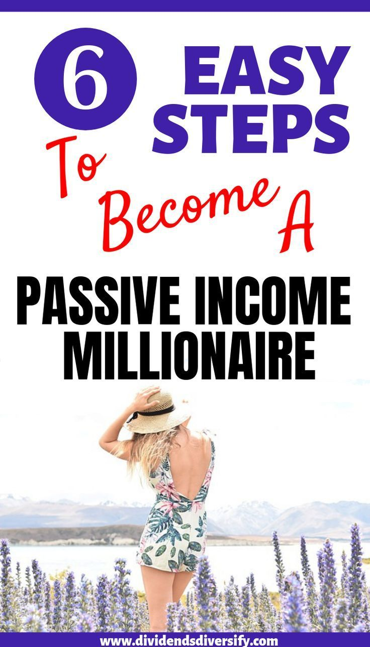 Passive Income from Dividends is your Path to Financial Independence