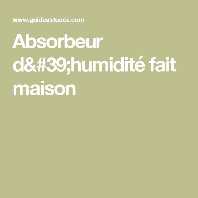 Les 154 meilleures images propos de id es sur pinterest - Absorbeur anti humidite ...