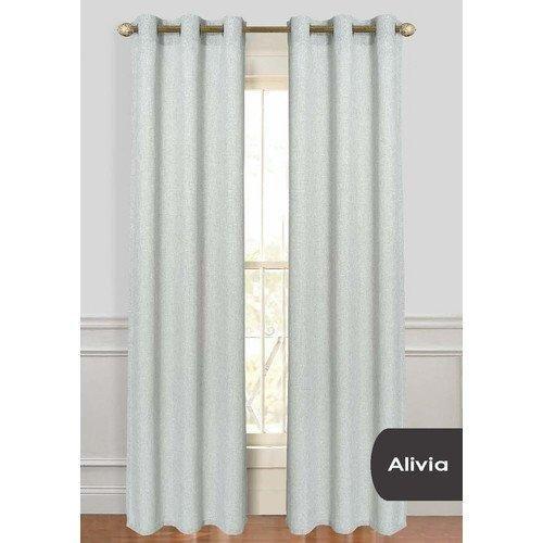 84 Inch Outdoor Silver Solid Color Gazebo Curtain Grey Color Outside Window Treatment Panel Patio Porch Deck Entrance Door Grommet Doorway Pergola